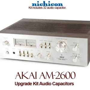 Akai AM-2600 Upgrade Kit Audio Capacitors