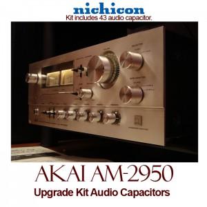 Akai AM-2950 Upgrade Kit Audio Capacitors