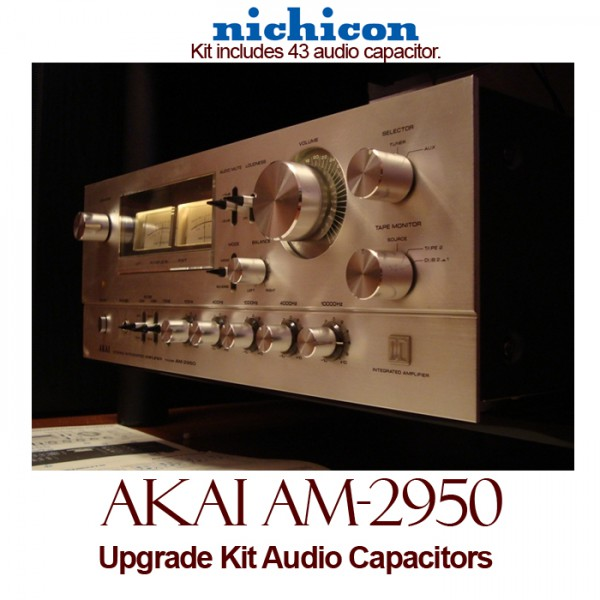 Akai AM-2950 Upgrade Kit Audio Capacitors