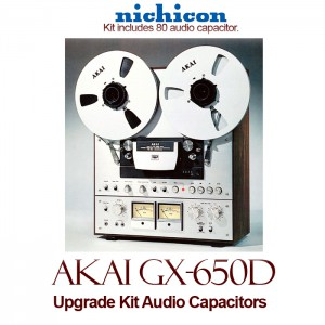 Akai GX-650D Upgrade Kit Audio Capacitors