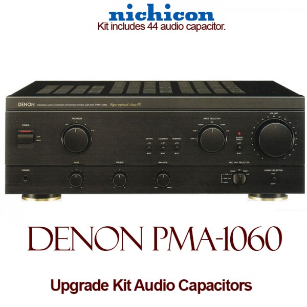 Denon PMA-1060 Upgrade Kit Audio Capacitors