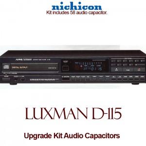 Luxman D-115 Upgrade Kit Audio Capacitors