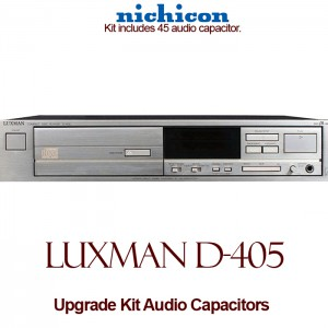 Luxman D-405 Upgrade Kit Audio Capacitors