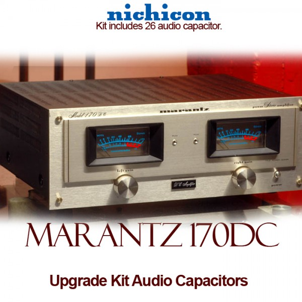 Marantz 170DC Upgrade Kit Audio Capacitors