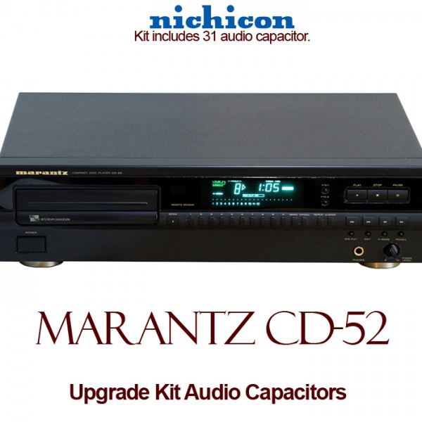 Marantz CD-52 / MkII Upgrade Kit Audio Capacitors