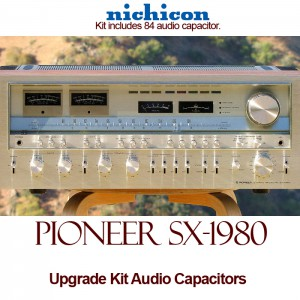Pioneer SX-1980 Upgrade Kit Audio Capacitors