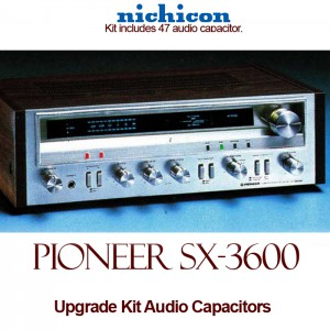 Pioneer SX-3600 Upgrade Kit Audio Capacitors