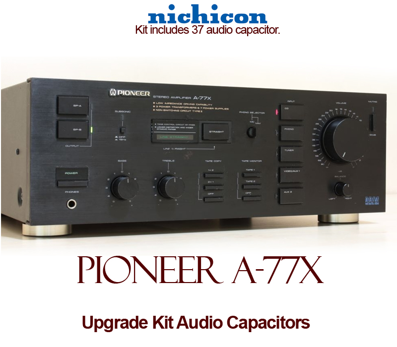 Pioneer A 77x Upgrade Kit Audio Capacitors