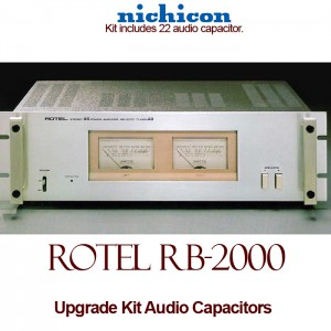 Rotel RB-2000 Upgrade Kit Audio Capacitors