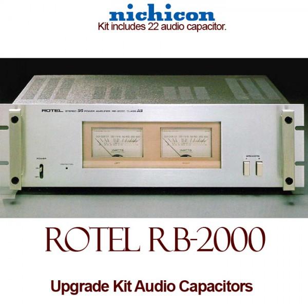 Rotel RB-2000 Upgrade Kit Audio Capacitors