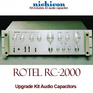 Rotel RC-2000 Upgrade Kit Audio Capacitors