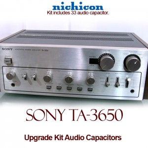 Sony TA-3650 Upgrade Kit Audio Capacitors