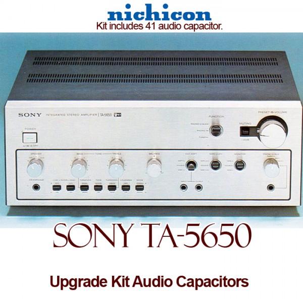 Sony TA-5650 Upgrade Kit Audio Capacitors