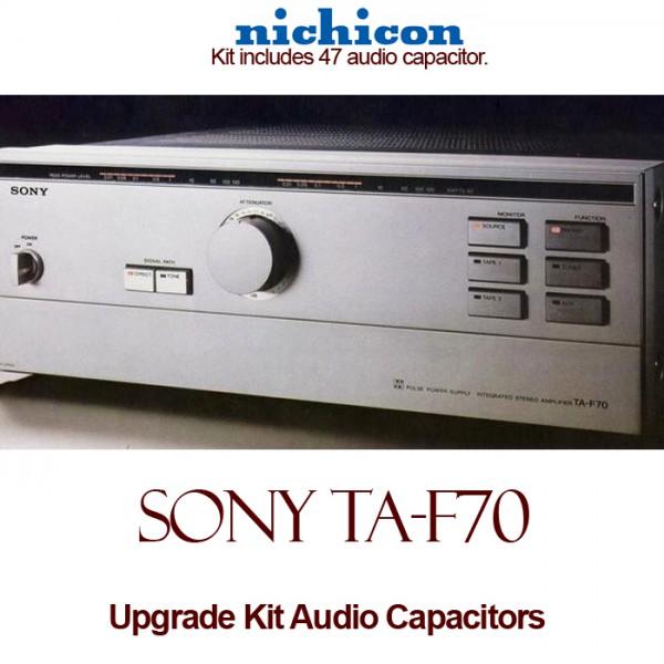 Sony TA-F70 Upgrade Kit Audio Capacitors