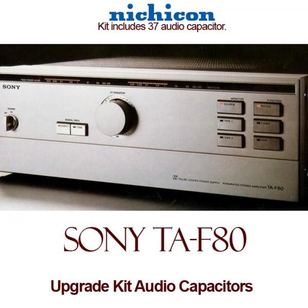 Sony TA-F80 Upgrade Kit Audio Capacitors