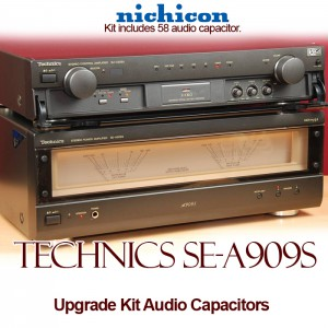 Technics SE-A909S Upgrade Kit Audio Capacitors