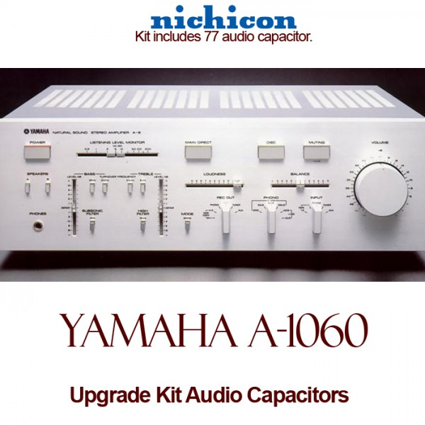 Yamaha A-1060 Upgrade Kit Audio Capacitors