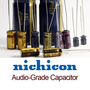 Nichicon FG 1000uf 25v Audio-Grade Capacitor