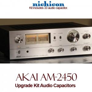Akai AM-2450 Upgrade Kit Audio Capacitors