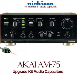 Akai AM-75 Upgrade Kit Audio Capacitors