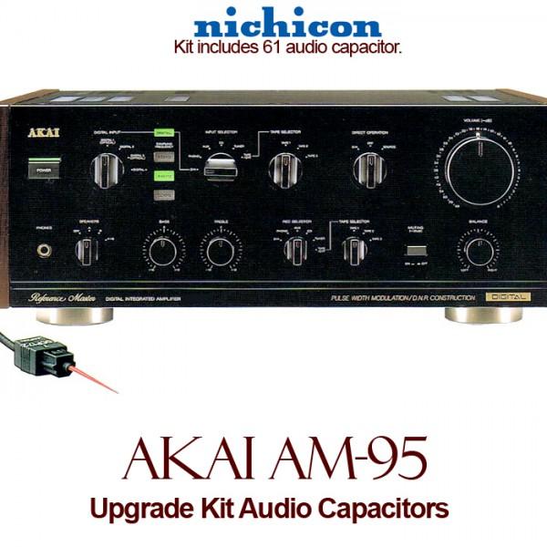 Akai AM-95 Upgrade Kit Audio Capacitors