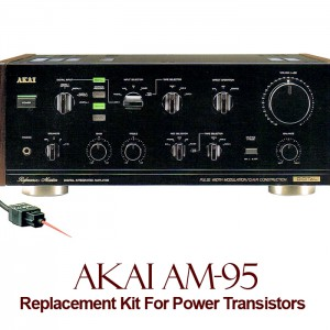 Akai AM-95 Replacement Kit Transistors