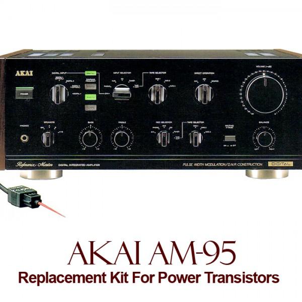 Akai AM-95 Replacement Kit Transistors