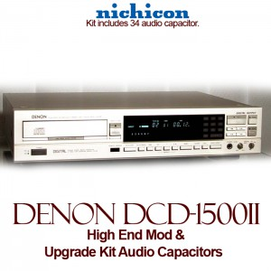 High End Mod For Denon DCD-1500II