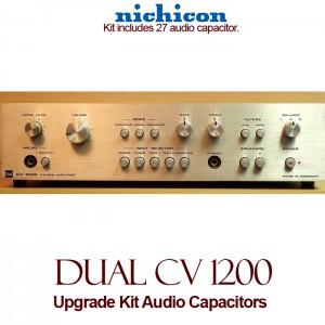 Dual CV 1200 Upgrade Kit Audio Capacitors