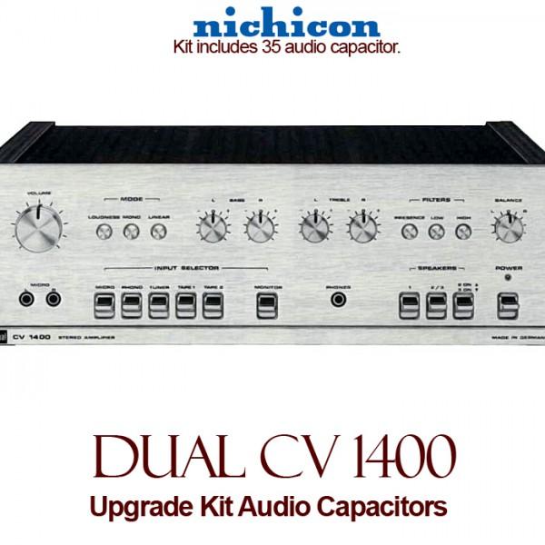 Dual CV 1400 Upgrade Kit Audio Capacitors