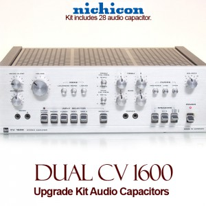 Dual CV 1600 Upgrade Kit Audio Capacitors