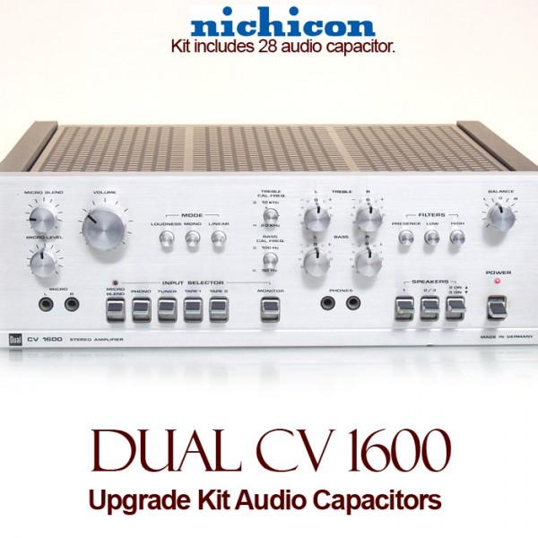 Dual CV 1600 Upgrade Kit Audio Capacitors