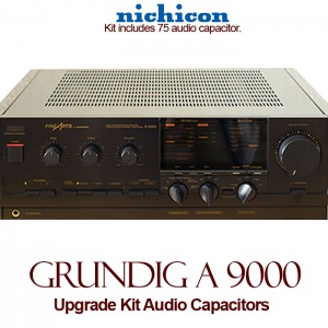 Grundig A 9000 Upgrade Kit Audio Capacitors