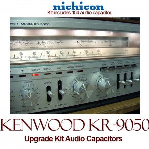 Kenwood KR-9050 Upgrade Kit Audio Capacitors