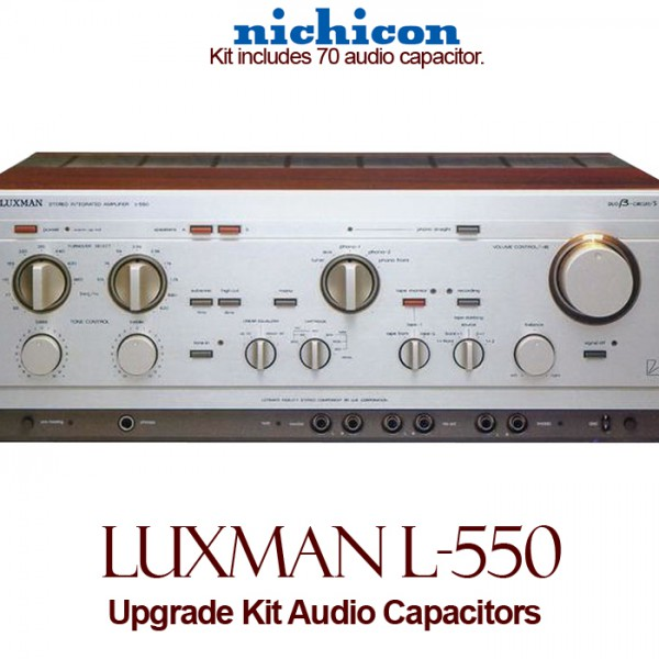 Luxman L-550 Upgrade Kit Audio Capacitors