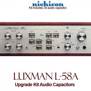 Luxman L-58A Upgrade Kit Audio Capacitors