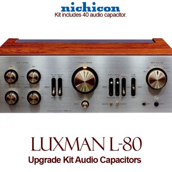 Luxman L-80 Upgrade Kit Audio Capacitors