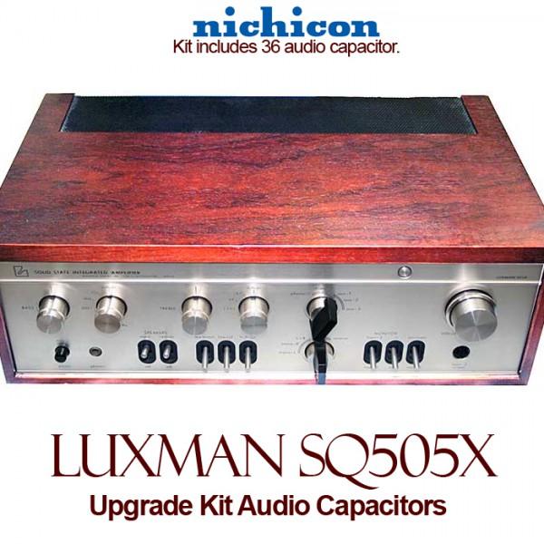Luxman SQ 505x Upgrade Kit Audio Capacitors