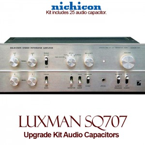 Luxman SQ 707 Upgrade Kit Audio Capacitors