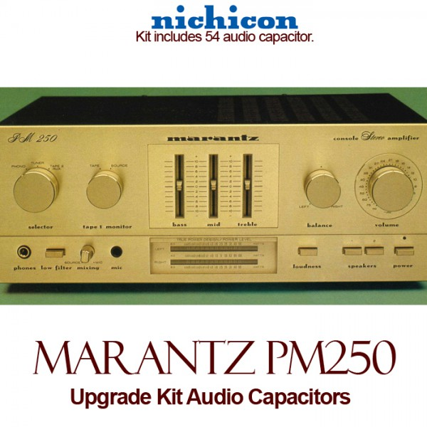 Marantz PM-250 Upgrade Kit Audio Capacitors