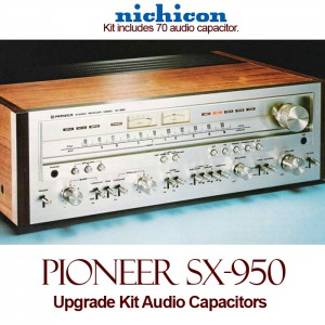 Pioneer SX-950 Upgrade Kit Audio Capacitors