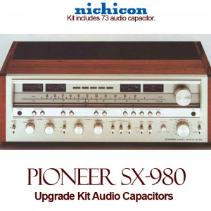 Pioneer SX-980 Upgrade Kit Audio Capacitors