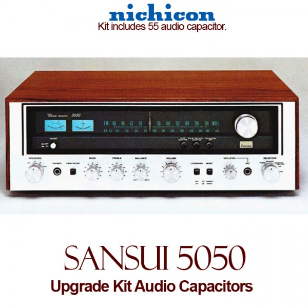Sansui 5050 Upgrade Kit Audio Capacitors