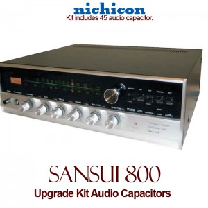 Sansui 800 Upgrade Kit Audio Capacitors