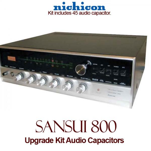Sansui 800 Upgrade Kit Audio Capacitors