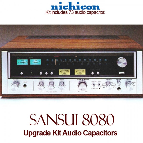 Sansui 8080 Upgrade Kit Audio Capacitors