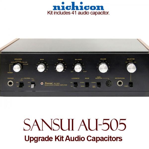 Sansui AU-505 Upgrade Kit Audio Capacitors