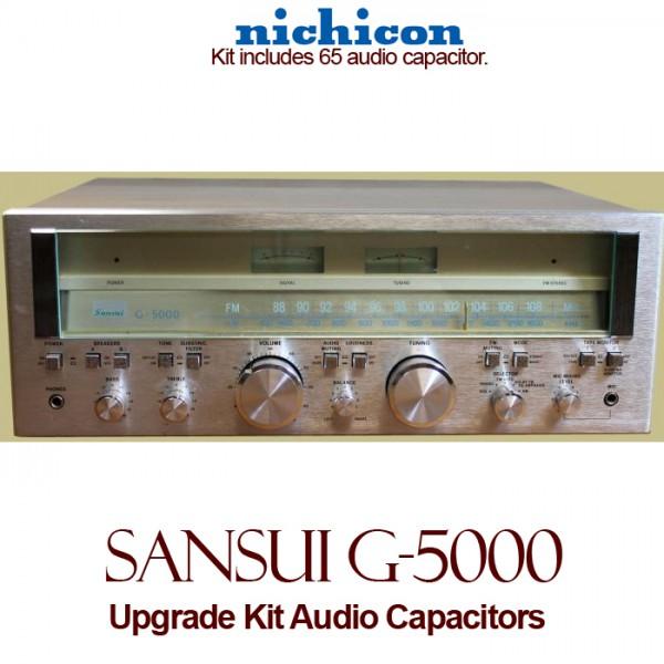 Sansui G-5000 Upgrade Kit Audio Capacitors