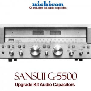 Sansui G-5500 Upgrade Kit Audio Capacitors