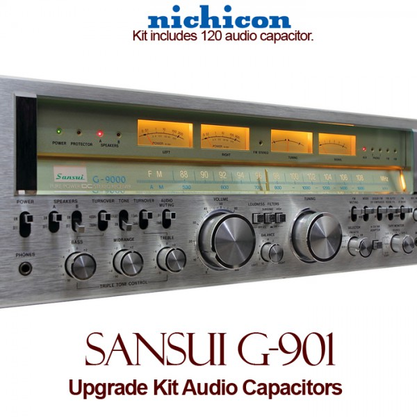Sansui G-901 Upgrade Kit Audio Capacitors
